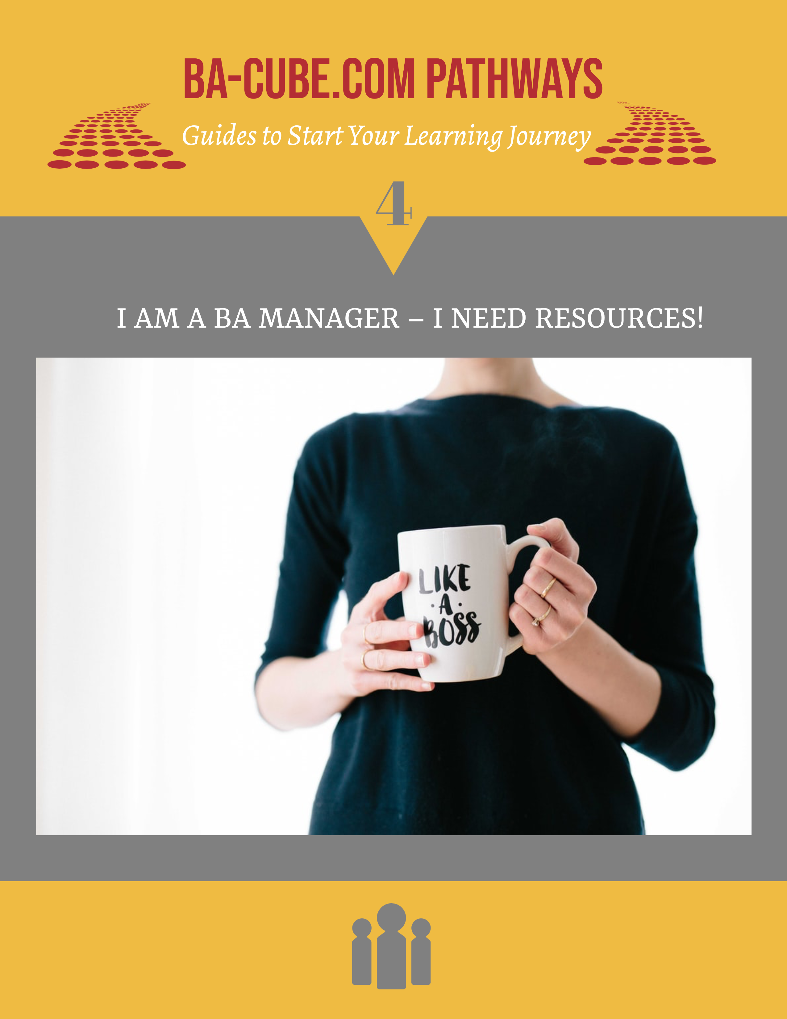 Pathway 4: I am a BA Manager – I need resources for my Practice!
