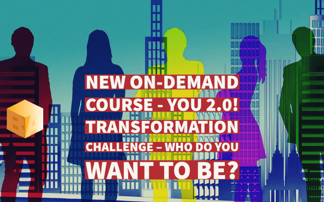 You 2.0!  Transformation Challenge – Who Do You Want To Be?